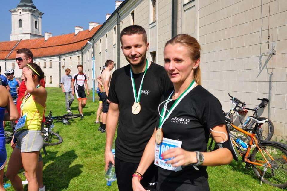 Agnieszka Chwałowska i Rafał Erenberg - Fudu&co Sport Team