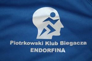 Logo Piotrkowskiego Klubu Biegacza ENDORFINA