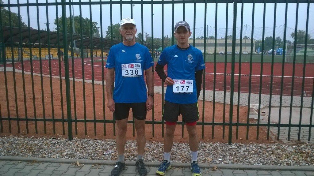 Tadeusz Przygodzki (338) i Daniel Koczwarski (177)