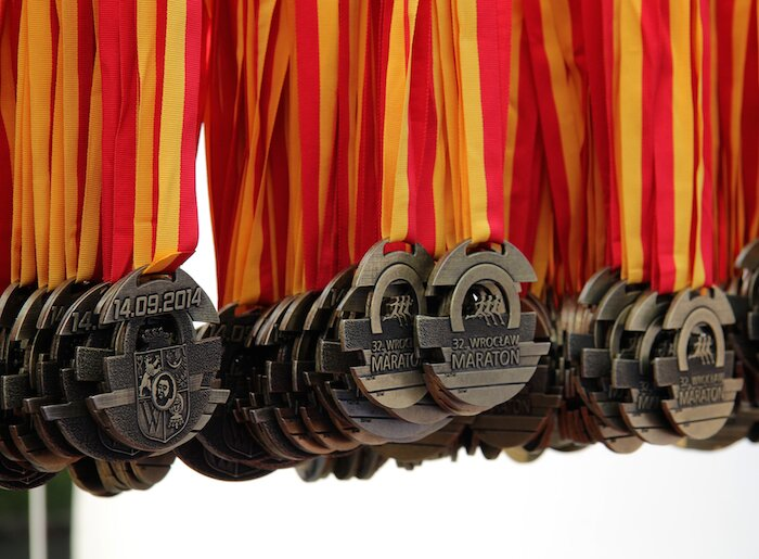 Medale 32. Wrocław Maraton