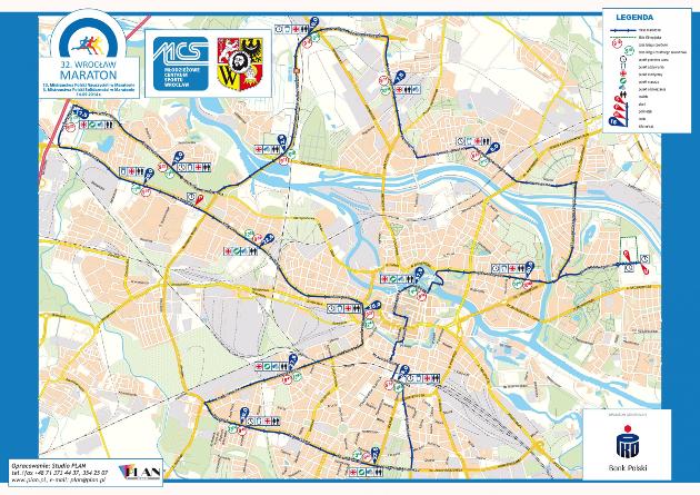Trasa 32. Wrocław Maraton