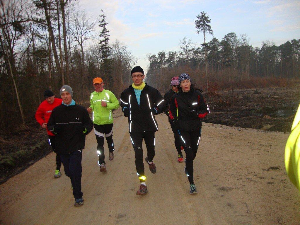 od lewej: Mariusz, Daniel, Bogumił, Grzesiek, Piotr, Ania