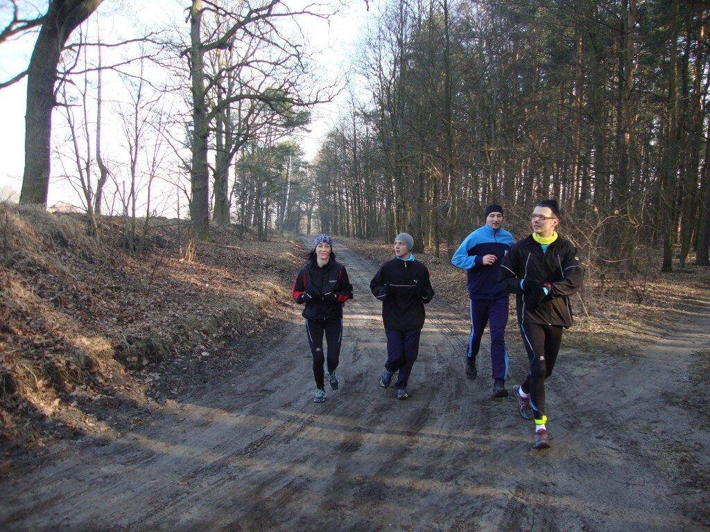 od lewej: Ania, Daniel, Roman, Grzesiek