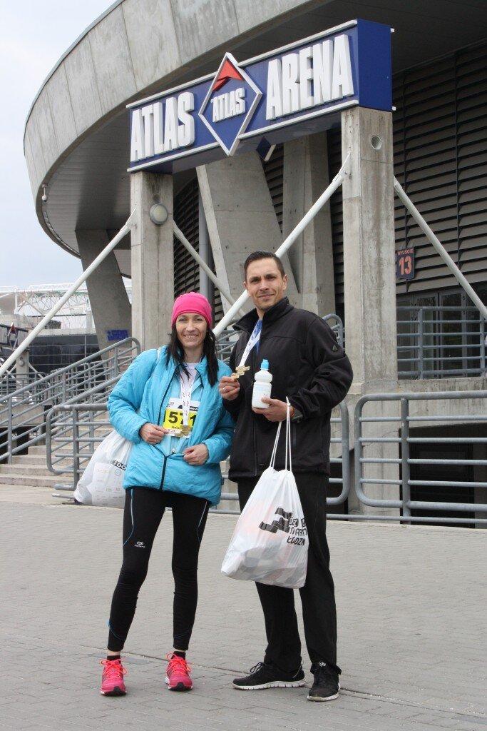 Ania Wiktorowicz i Jacek Janus